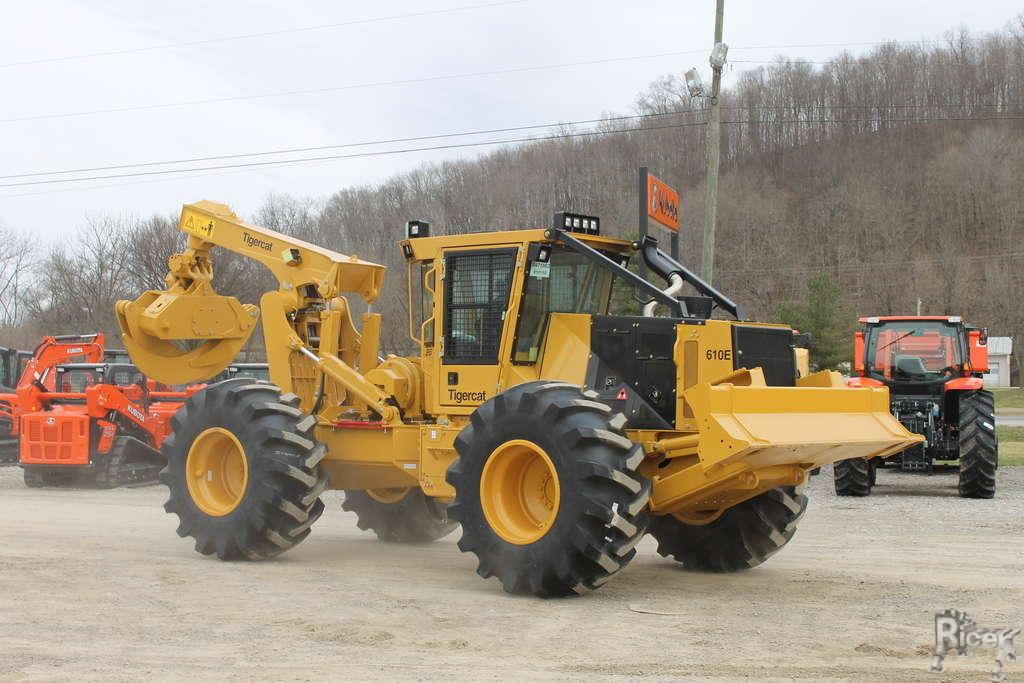 TIGERCAT 610E GRAPPLE SKIDDER